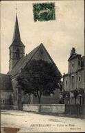 Cp Frontenard Saône Et Loire, Eglise Et Ecole - Sonstige Gemeinden