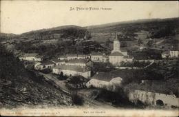 Cp La Petite Fosse Vosges, Vue Du Centre, Panorama - France