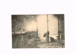 La Métallurgie.Vue D'un Bassin De Coulée.La Coulée. - Industrie