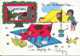 On Est Vachement Bien ....au Camping De Corbigny .......... - Corbigny