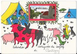 Salutations Distinguées Du Camping De Corbigny .......... - Corbigny