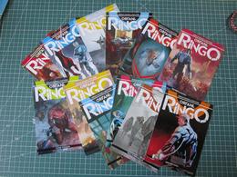 Lotto 12 Cartoline SERIE COMPLETA Orfani - Ringo 1/12 Fumetti BD Comics Bonelli - Fumetti