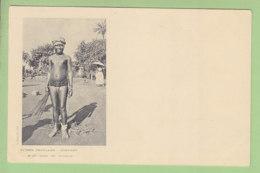 CONAKRY : Jeune Fille Soussous Seins Nus. TBE. Guinée, Soussou. Dos Simple. 2 Scans. Edition Bouquillon - Guinée
