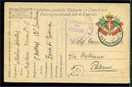 M1074  - POSTA MILITARE 21 DIVISIONE - 1900-44 Vittorio Emanuele III