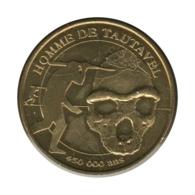 66001 - MEDAILLE TOURISTIQUE MONNAIE DE PARIS 66 - Homme De Tautavel - 2010 - Monnaie De Paris