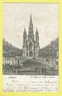 * Laken - Laeken (Brussel - Bruxelles) * (Nels, Série 1, Nr 202) Le Projet De L'église Terminée, Train, Trein, Zug, TOP - Laeken