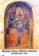 San Marzano Di San Giuseppe (Taranto) - Santino MADRE DELLA DIVINA GRAZIA (Affresco Del Sec. XIII) - OTTIMO P91 - Religione & Esoterismo