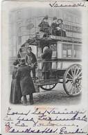 CONDUCTEUR  D'OMNIBUS (1902 Carte Originale ) - Petits Métiers à Paris
