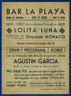 Programa Años 1950 - Programas