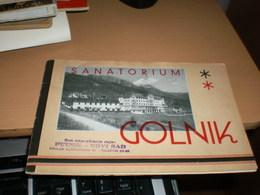 Sanatorium Golnik - Dépliants Touristiques