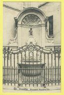 * Brussel - Bruxelles - Brussels * (Nels, Série 1, Nr 64) Monument Manneken Pis, Statue, Fontaine, Enfant, Rare - Brussel (Stad)