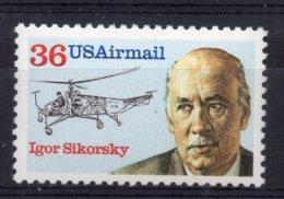 U.S.A - 1988 - Aviation Pioneers Igor Sikorsky  - MNH - Etats-Unis