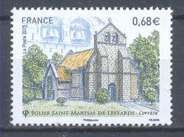 Año 2015  Nº4967 Iglesia Saint Martial De Listards - France