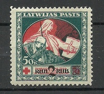 LETTLAND Latvia 1921 Michel 67 * - Lettland