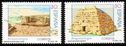 ESPAÑA 1996 - ARQUEOLOGIA - Edifil 3448-3449 - Yvert 3029-30 - Arqueología