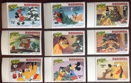 Antigua Redonda 1981 Disney Christmas MNH - Antigua And Barbuda (1981-...)