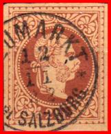 AUSTRIA ( ÖSTERRREICH ) SELLO AÑO 1867 -1874 TEMAS DE LA MONARQUÍA AUSTRO-HÚNGARA - EL EMPERADOR FRANCISCO JOSÉ - 1850-1918 Imperium