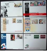 MALTA, 1981/1993, 12 Unused Stationery Cards - Man (Insel)