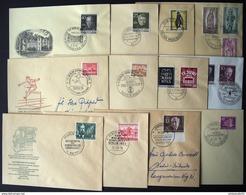 1953/1955: BERLIN, 20 Verschiedene Amtliche FDC - Hoher Katalogwert - Timbres