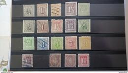 HAMBURG, 19 Marken (*)/*/o -  Hoher Katalogwert - High Catalogue Value - Allemagne