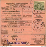 DEUTSCHLAND, 1919/1954, 18 Belege - Timbres
