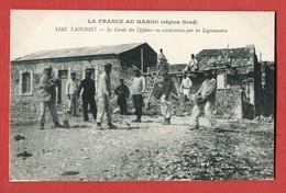 La France Au Maroc Oriental N°1153 TAOURIRT Le Cercle Des Officiers En Construction Par Les Lègionnaires - Maroc
