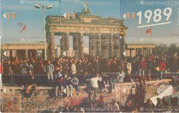 GERMANY O120,195,210,249,294,347,409/92,448,489/93 - Berlin Puzzle Brandenburger Tor - Stamp ( 9 Volle Karten) - Deutschland