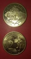 FRANCE - 2 EUROS - TRIAL - PROBE - ESSAI - MONT SAINT MICHEL - France
