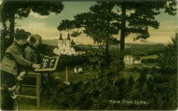 AK AUSTRIA - MARIA TROST BEI GRAZ - EDIT S. FRANK 1907 - MAILED TO LUCIANO MORPURGO ( SPLIT) ( BG2460) - Graz