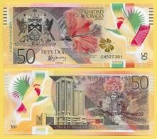 Trinidad & Tobago 50 Dollars P-59 2015 UNC - Trinidad & Tobago