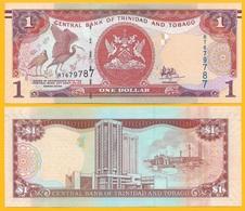 Trinidad & Tobago 1 Dollar P-46A(2) 2006 Sign. Hilaire UNC - Trinidad & Tobago