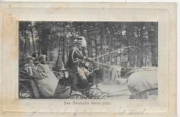 AK 0158  Das Deutsche Kaiserpaar - Verlag Klement Um 1901 - Politische Und Militärische Männer