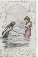 AK 0158  Zwei Wassernixen - Künstlerkarte Um 1905 - Frauen