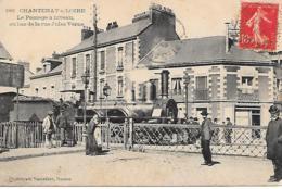 44-Chantenay Sur Loire-Le Passage à Niveau Au Bas De La Rue Jules Verne - France