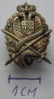 ZA KRALJA I OTADZBINU 1918 KRALJEVINA JUGOSLAVIJA, KINGDOM OF YUGOSLAVIA, RRARE   PINS BADGES P2 - Army