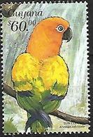 Guyana -1999 - MNH - Parrots Of Central America -   Sun Parakeet    (Aratinga Solstitialis) - Papegaaien, Parkieten