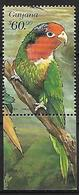 Guyana -1999 - MNH - Parrots Of Central America -   Fairy Lorikeet   ( Charmosyna Pulchella) - Parrots
