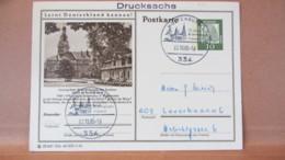 BRD: GA-Bildpostkte Mit 10 Pf Dürer Bild: Lessing-Stadt Wolfenbüttel SSt. WOLFENBÜTTEL-10 J. BM Freunde 23.10.65 Knr:P72 - Brieven En Documenten