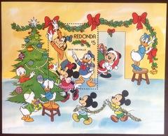 Antigua Redonda 1983 Disney Christmas Minisheet MNH - Antigua And Barbuda (1981-...)
