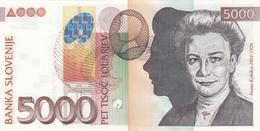 5000 TOLAR TOLARJEV 15.JANUAR 2004 BANKNOTE - Slovenia