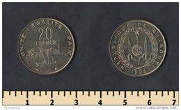 Djibouti 20 Francs 1996 - Djibouti