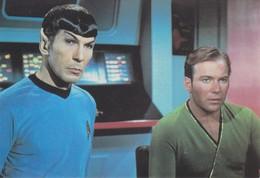 Star Trek Carte 105 126 (2 Scans) - Series De Televisión