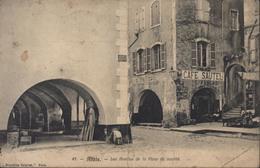 Carte Postale CPA Alais Les Arceaux De La Place Du Marché Nouvelles Galeries Alais CAD Perlé Mialet 26 Sept 05 Gard - France