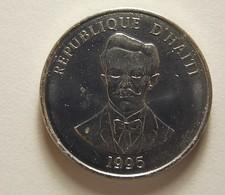 Haiti 20 Centimes 1995 Varnished - Haïti