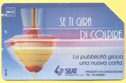 Scheda Telefonica - ITALIA - ITALY - ITALIE - 30.06.94 - SEAT - Se Ti Gira Di Colpire - SIP 10000 - Italia