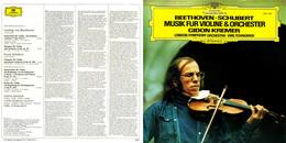 Superlimited Edition CD Gidon Kremer. BEETHOVEN. SCHUBERT. MUSIK FUR VIOLINE&ORCHESTER. - Instrumental