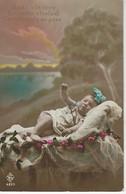 FAIRE PART DE NAISSANCE - Sante A La Mere, Prosperité A L'Enfant, Compliments Au Pere ( Editeur BRANGER ) - Naissance
