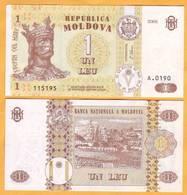 "2006 Moldova ; Moldavie ; Moldau  ""1 LEI  2006""  UNC 115195 - Moldavia"