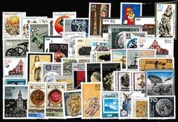 DDR Lot Postfrisch Aus 1983 Bis 1990 (siehe Foto) - Timbres