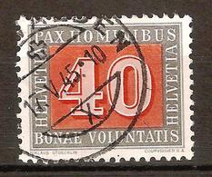 Zu 266 / Mi 451 / YT 409 PAX Obl.CHURWALDEN 17.5.45 SBK 10,- Voir Description - Suisse